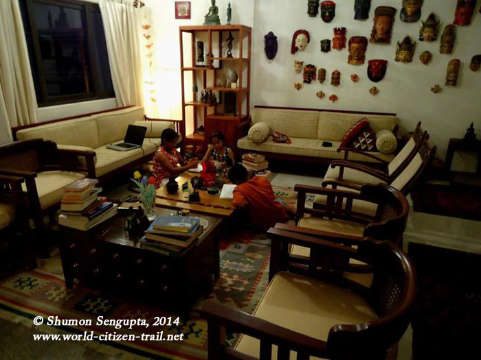 Our apartment in Kolkata- -We have recently taken possession of our new