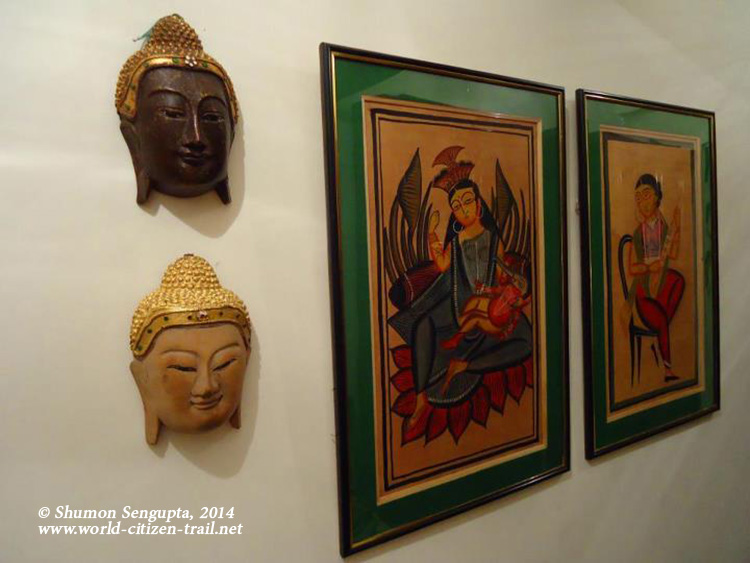 Wooden Buddha Masks- Source Thailand-Paintings- -Pot-chitra-- Source- Kaligh