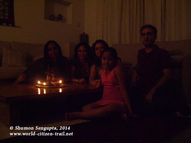 A warm and charming Diwali with friends