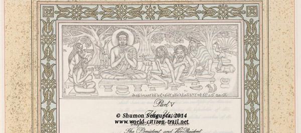 Scene from Buddha's life