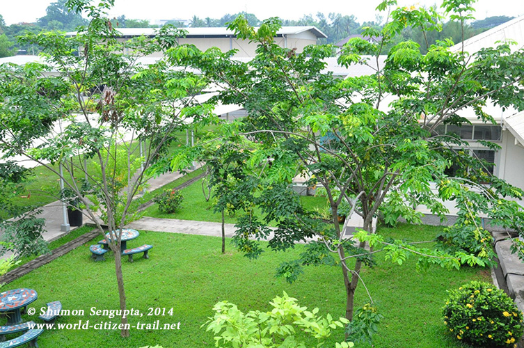 Vientiane International School - top view..