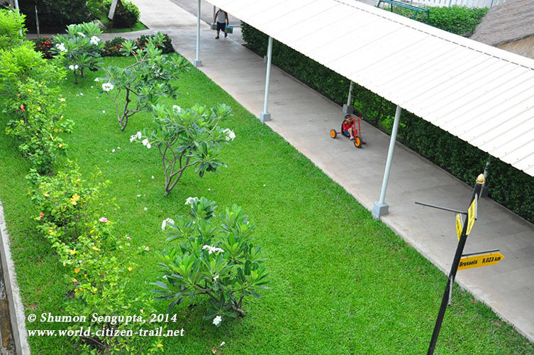 Vientiane International School - top view.