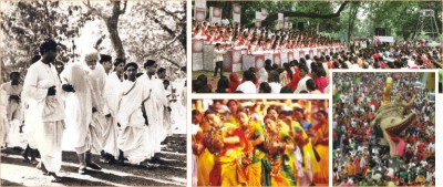 Collective Arts and Secular Festivals: From Tagore's Shantiniketan to Bangladesh