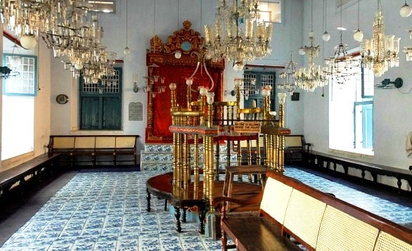 A Journey through a Palimpsest – Part Two: The Paradesi Synagogue in Kochi