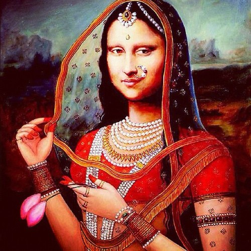 Bollywood Monalisa: Aappropriating and interpreting the other culture