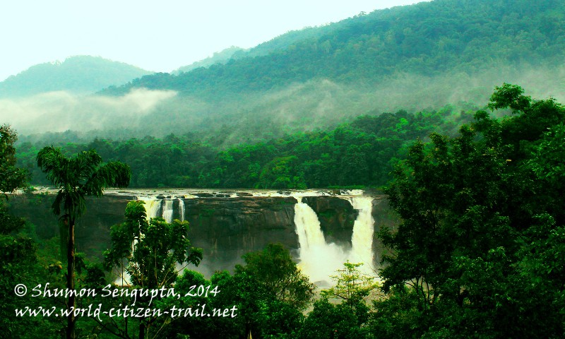 Monsoon Magic at Athirapally Waterfalls, Kerala