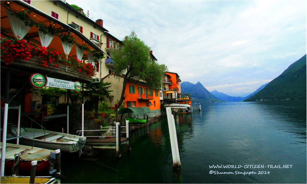 Picture Postcard Gandria, Ticino, Switzerland