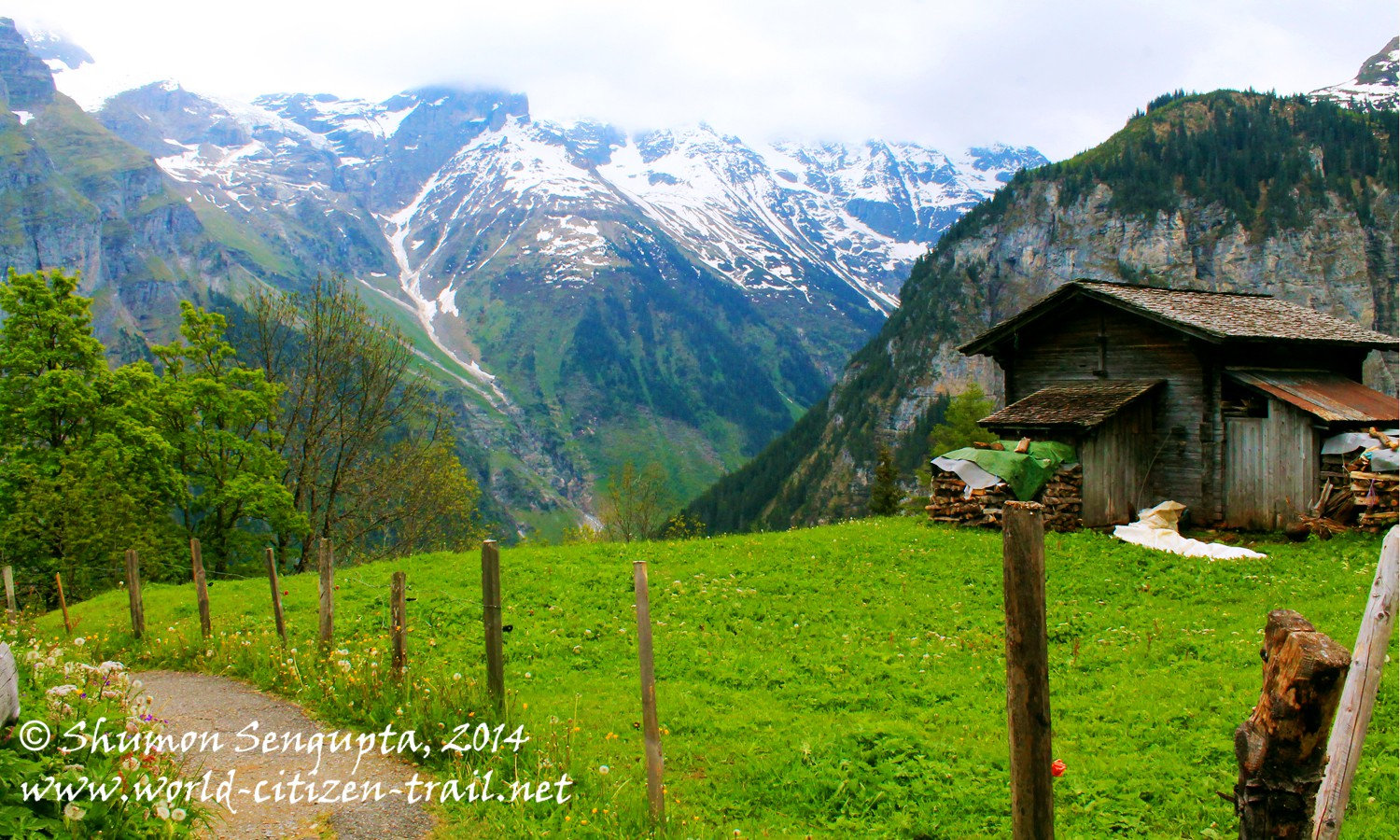 Murren to Gimmelwald: A Hike Through a Magical Land