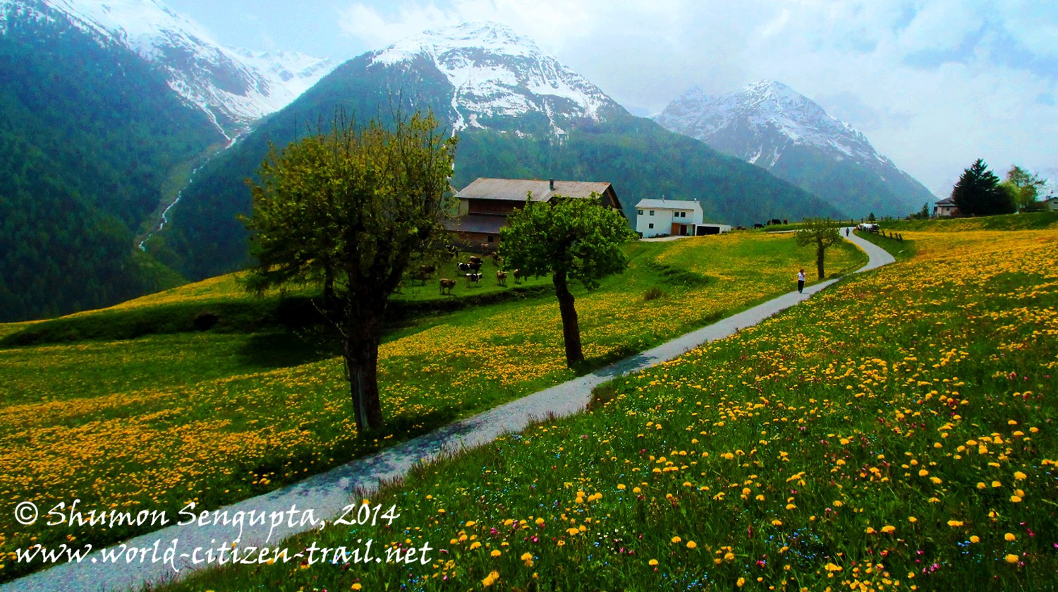 Into a Time Warp – Guarda Village in Lower Engadine Valley, Switzerland