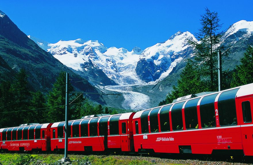 Bernina Express: Part I -Chur to Alp Grüm