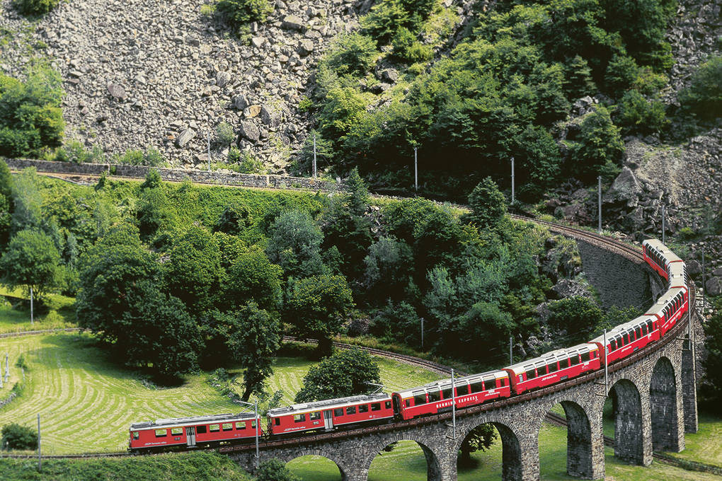 Bernina Express: Part II – From Alp Grüm to Tirano